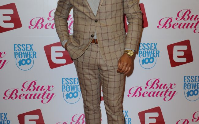 Zack Smith at the Essex TV Awards