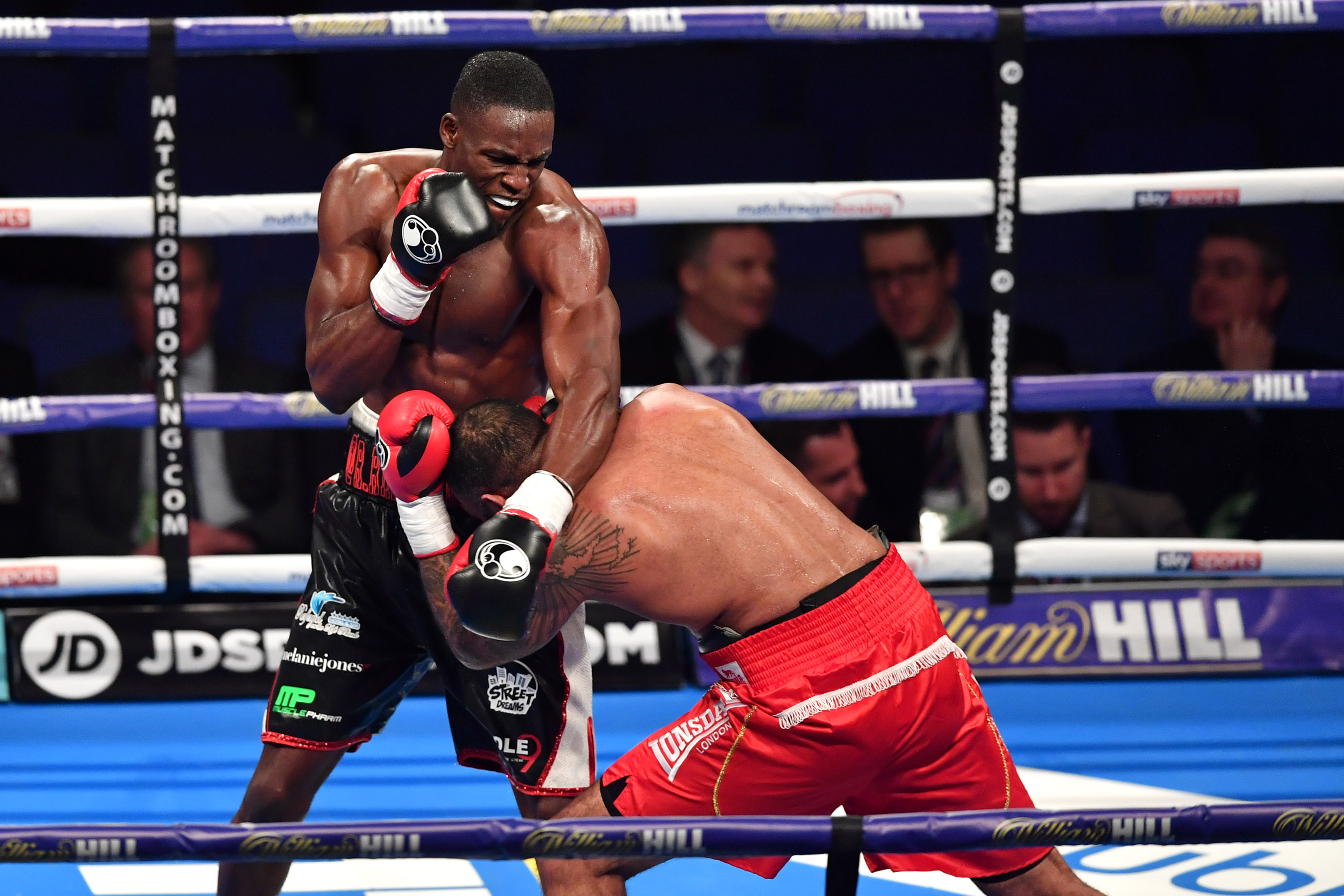 Richard Piakporhe v Adam Williams, Boxing at the O2, O2 Greenwich, 24 March 2018. Image by Keith Gillard